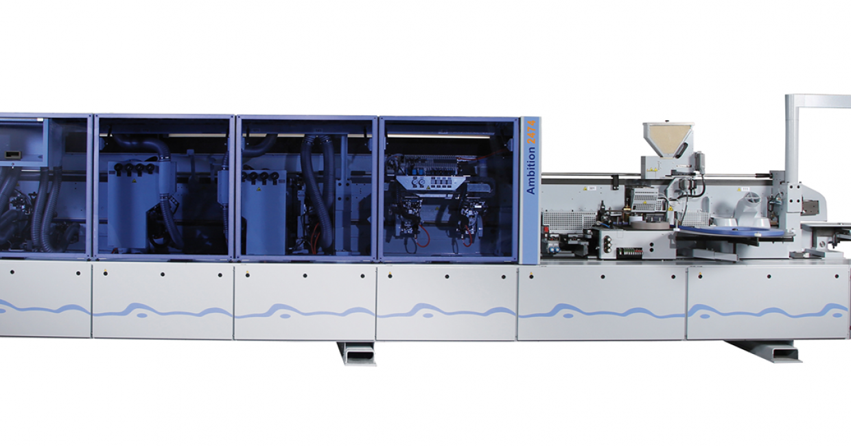 The Homag Ambition 2474  - high quality and flexible capacity edgebanding for all materials