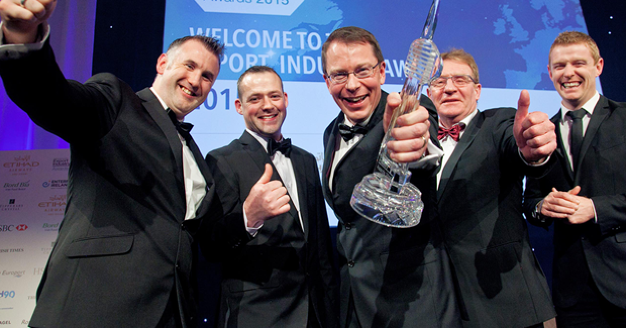 Winners again! Combilift wins Exporter of the Year Award for the second time