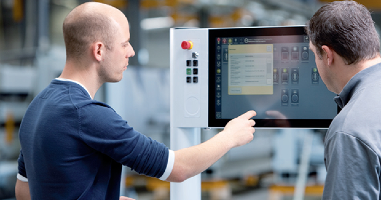 Homag's new edgebander range boasts simple and reliable operation with powerTouch control screens