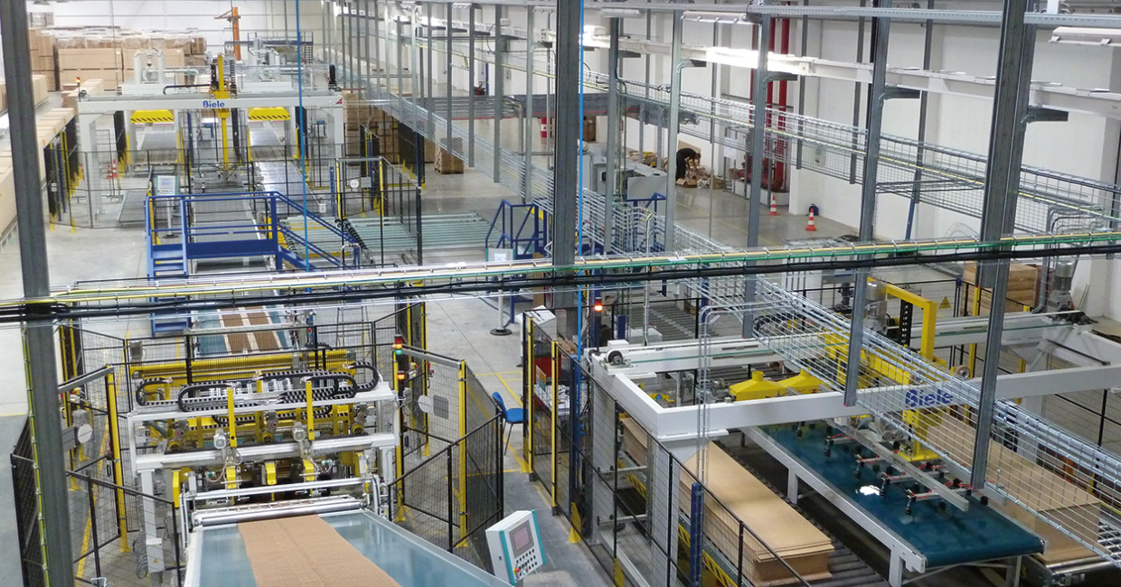 Biele's new fully-automated packing line