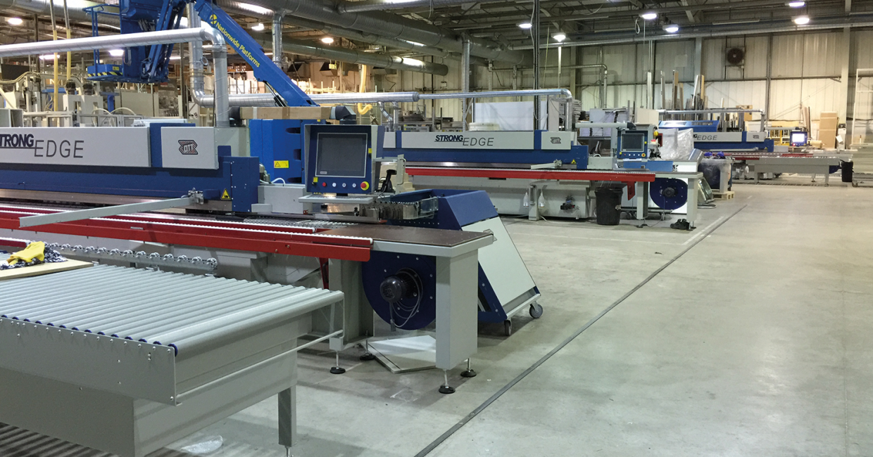 £1.3m in new machinery and equipment and a new 10,000 sq ft warehouse