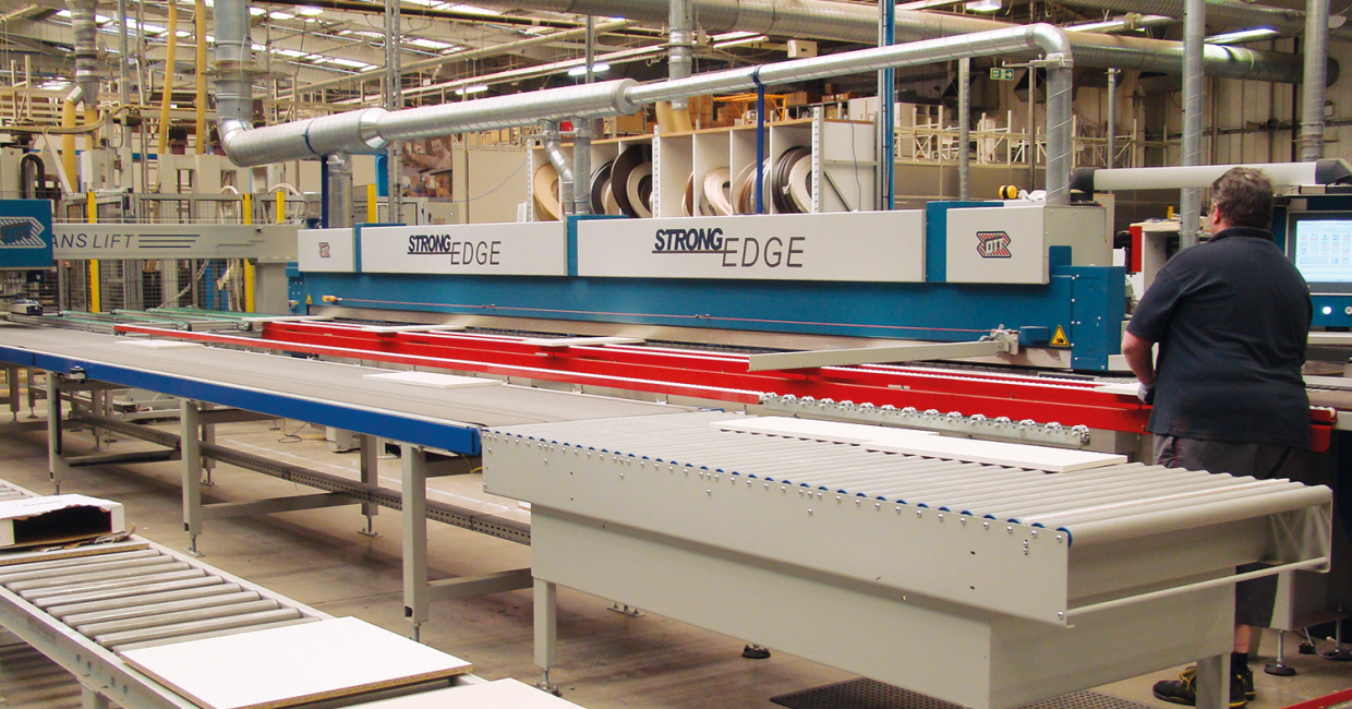Sigma3 says the flexibility of the Paul Ott's patented Combimelt glue application system were obvious