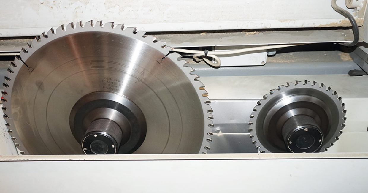 Leitz tooling in situ