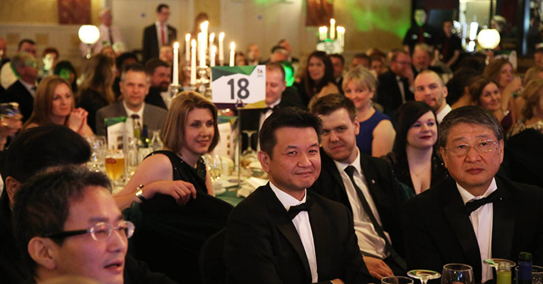Guests enjoying their evening at the BA Awards
