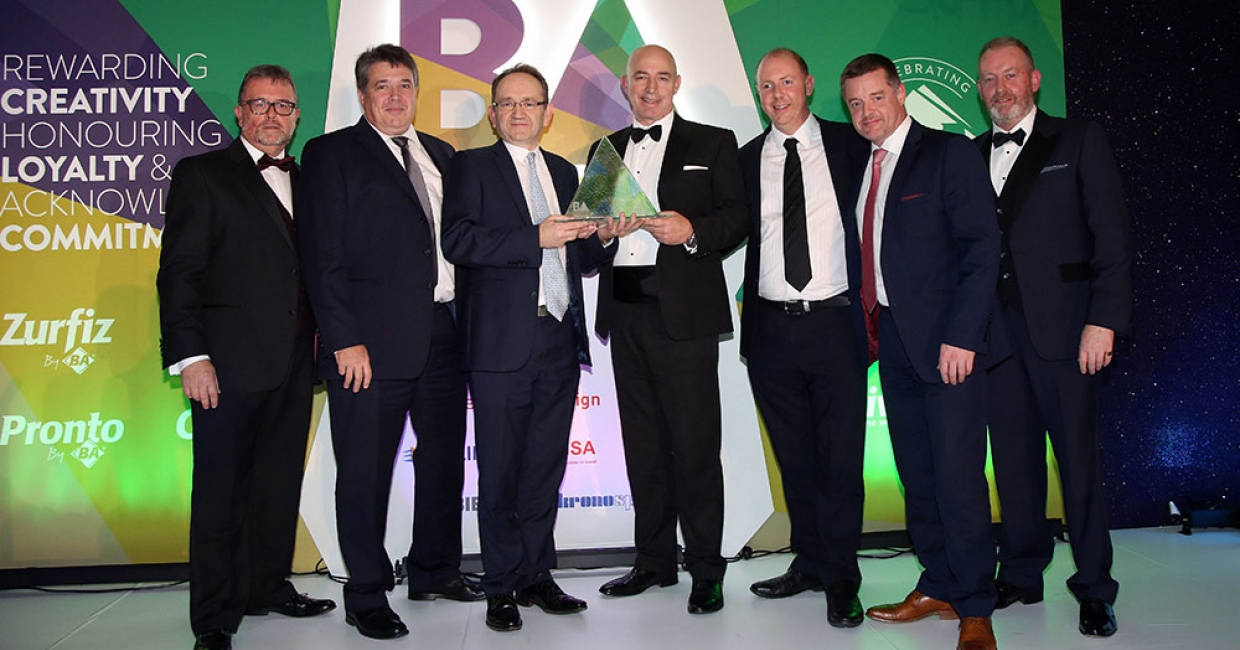 Hettich UK, winners of the Supplier of the Year Award