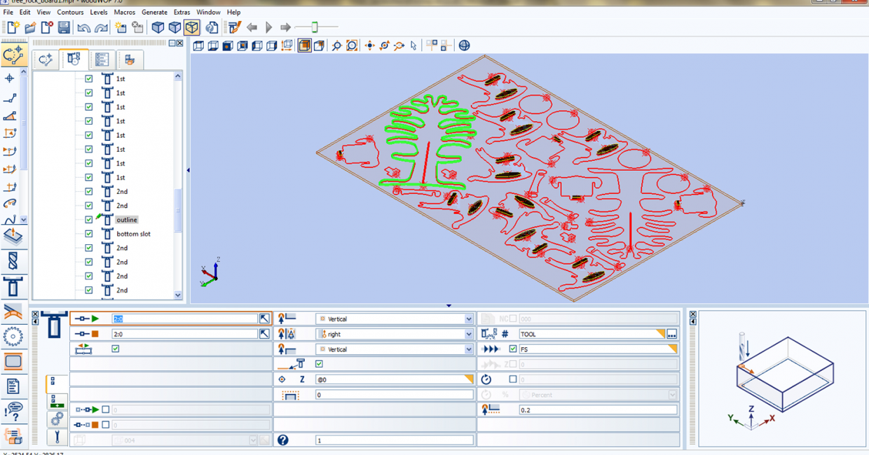 Homag's woodCAD CAM software includes on-screen job previews to eliminate error time and costs