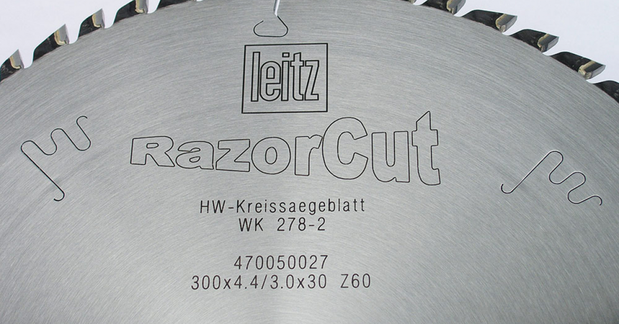 Leitz RazorCut finish blade