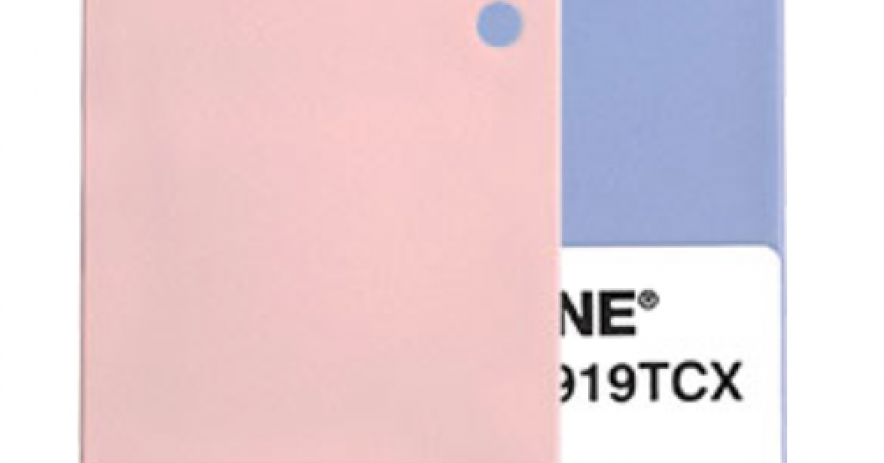 Pantone Colour(s) of the Year for 2016: Rose Quartz and Serenity