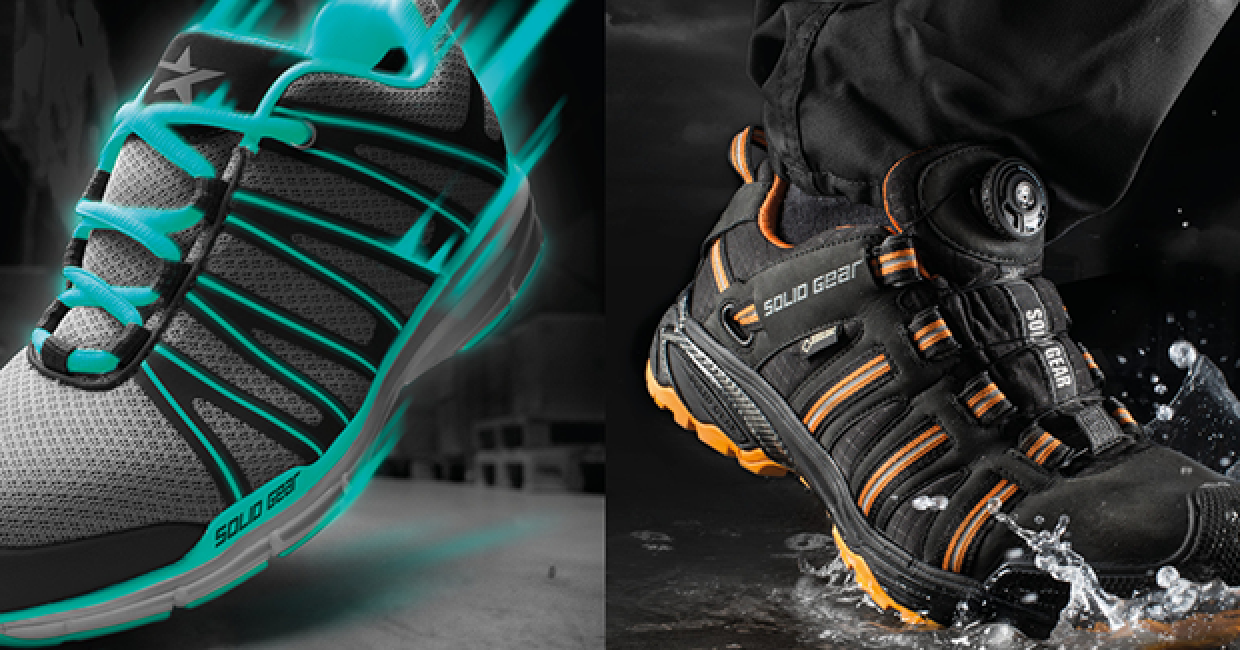 Solid Gear and Toe Guard brands are now available through Snickers Workwear in the UK