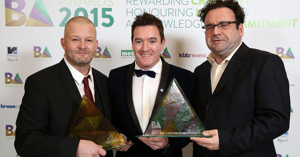 Thornleys - Winners of Best Kitchen Under £15k and the Best Overall Award