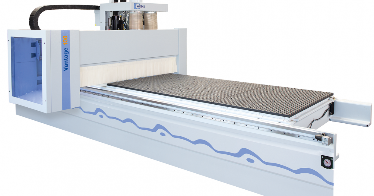 Weeke Vantage 100 CNC nesting machine – fast and accurate production with minimal board waste