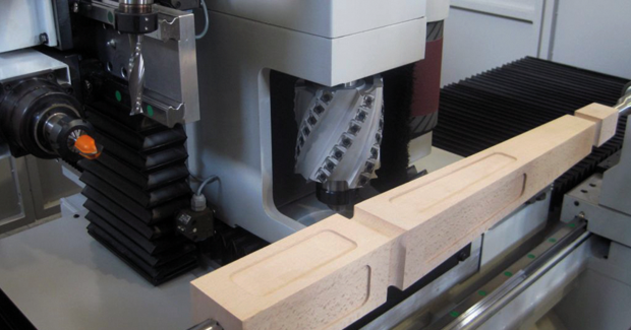 Intorex TC and TMC four/five axis CNC 'between centres' CNC machining centres, with in built sanding