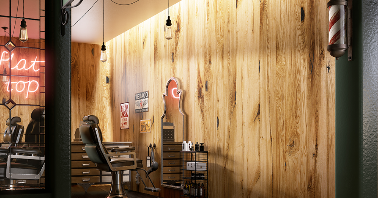 Losan's real wood veneers