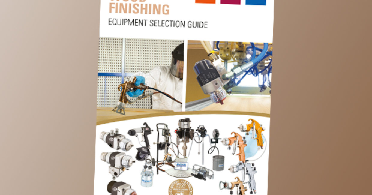 Finishings Brands' new Wood Finishings Selection Guide