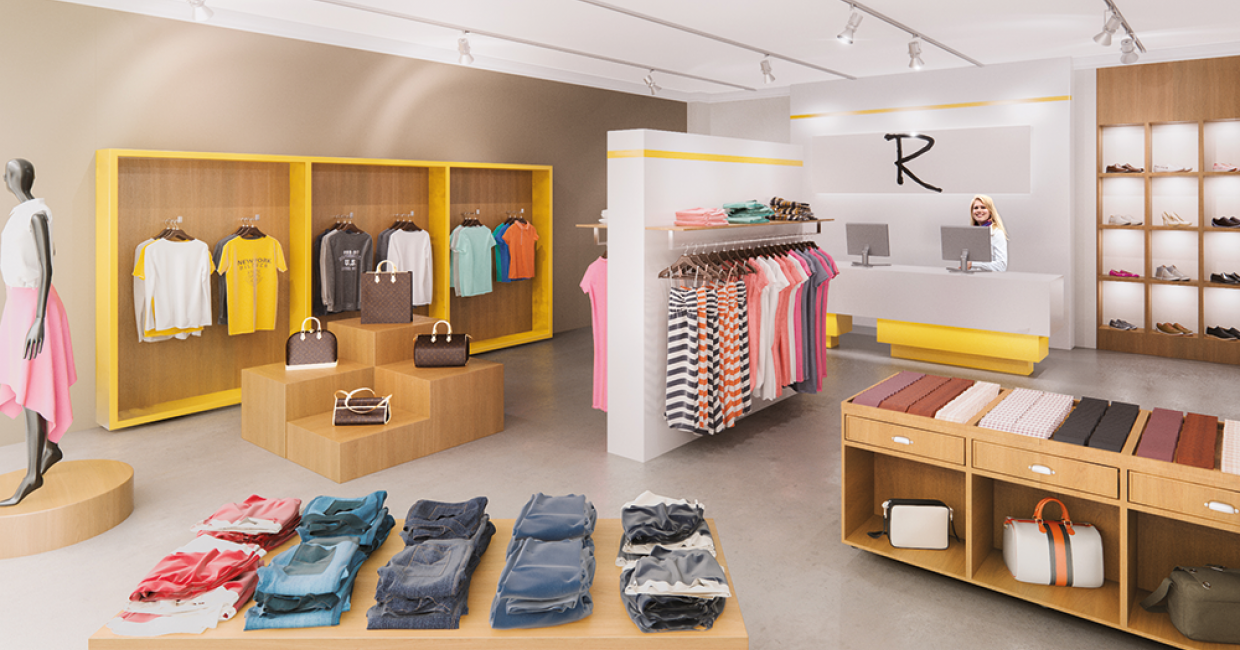 Renolit Armouren: typical areas of use include shopfittings, hotels and hospitality, healthcare and public buildings