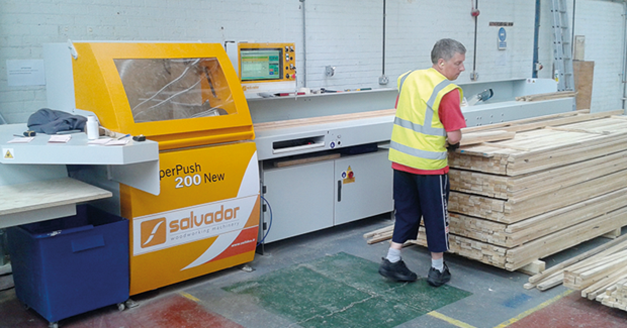 Daltons Wadkin has now supplied Westbridge with its third Salvador machine