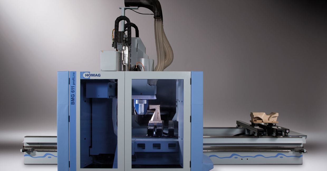 Homag's five-axis processing centres – faster production at an affordable price