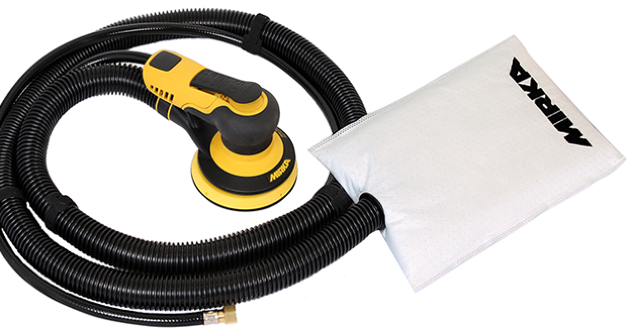 Mirka has expanded its successful PROS range with new dust bag machines