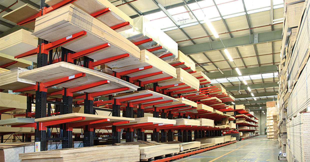 Delivery or customer collection is available from its regional depots and distribution centres