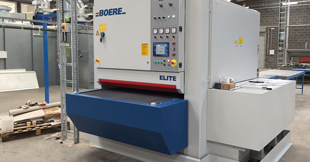 Recently installed Boere Sandrite CC1300SPSP cost effective high-tech sanding