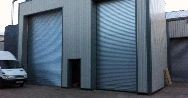 Boiler room housing Talbotts MWE999 RHI boiler and Untha 1400 shredder