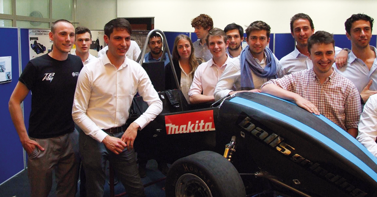 Mak1638 Team Bath Racing Electric and their entry