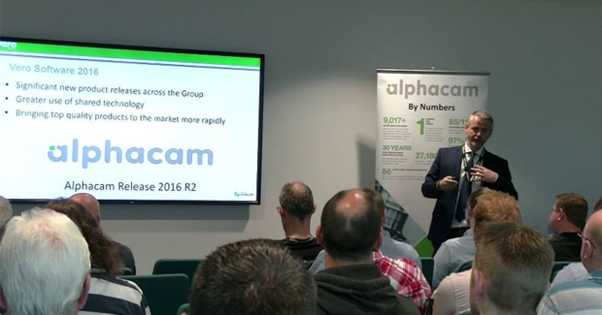 Alphacam has held two successful user-group meetings, featuring the latest 2016 R2 release of the software