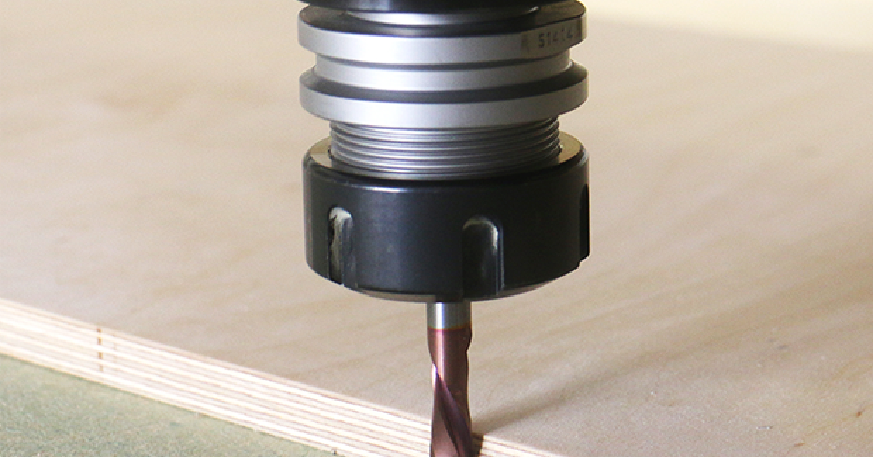 Compression for industrial woodworking
