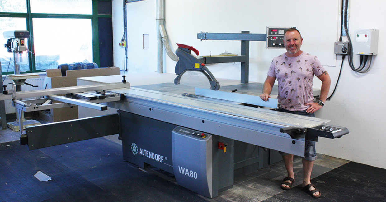 When Alternative Element needed a new sliding table saw, they went to Daltons Wadkin and chose an Altendorf WA80X