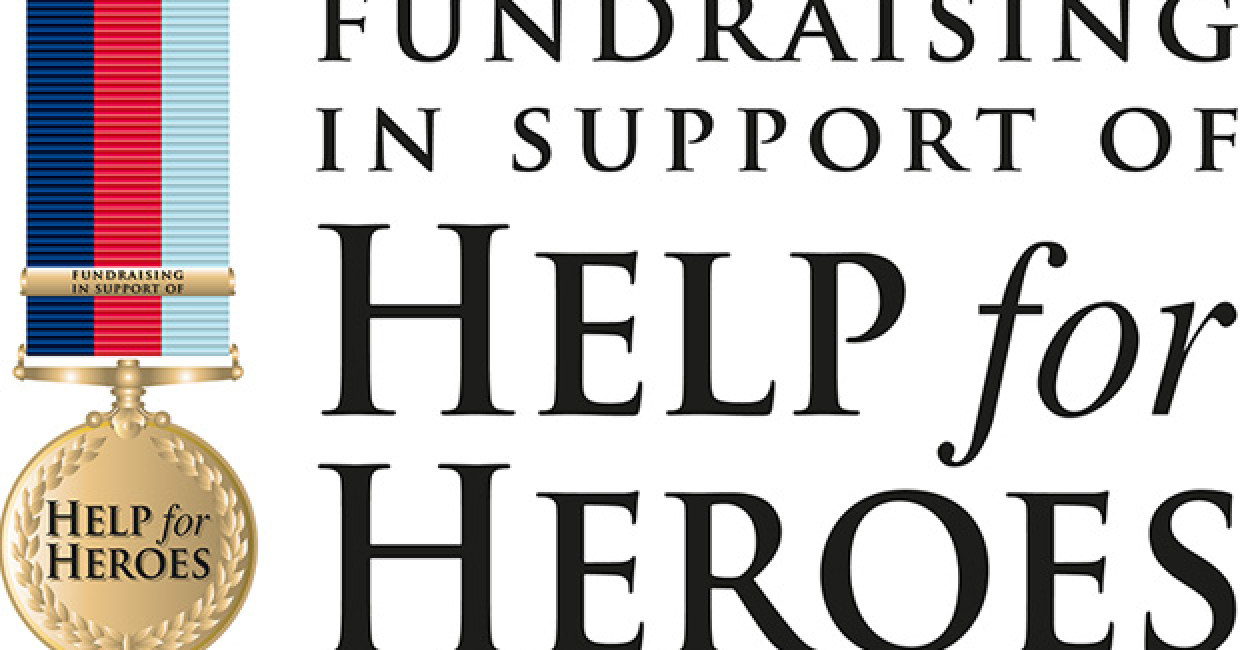 W16 and Elements is working with Help For Heroes at W16-Elements