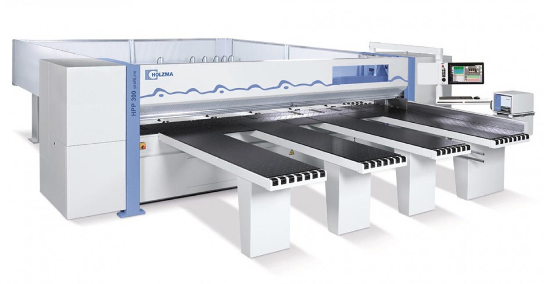 Holzma HPP 300 - 25-30% faster manufacturing for Borley Laminates