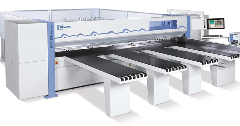 Holzma HPP 300 beam saw – compact and powerful