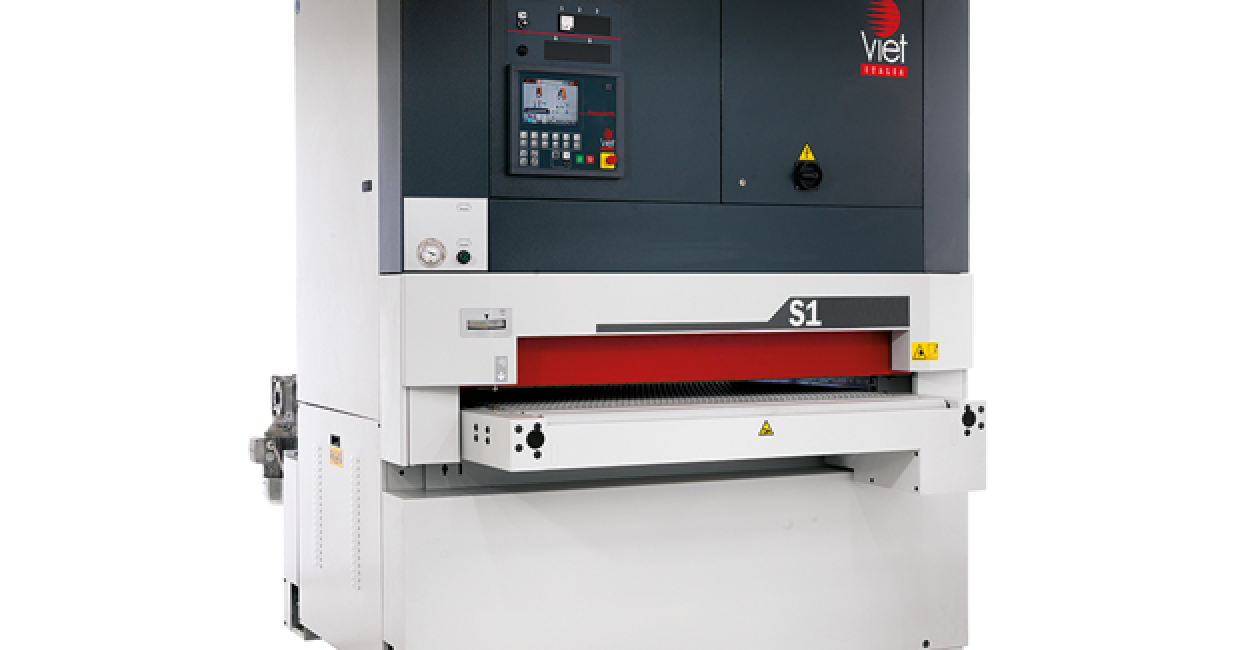 Viet wide-belt machines deliver accurate and efficient solutions to sanding needs