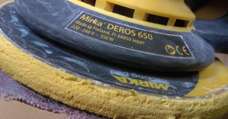 Worn or damaged backing pads