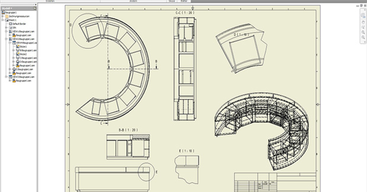 CAD+T add-on gives customers the possibility of drawing the parts directly in 3D even though users can still work on 2D