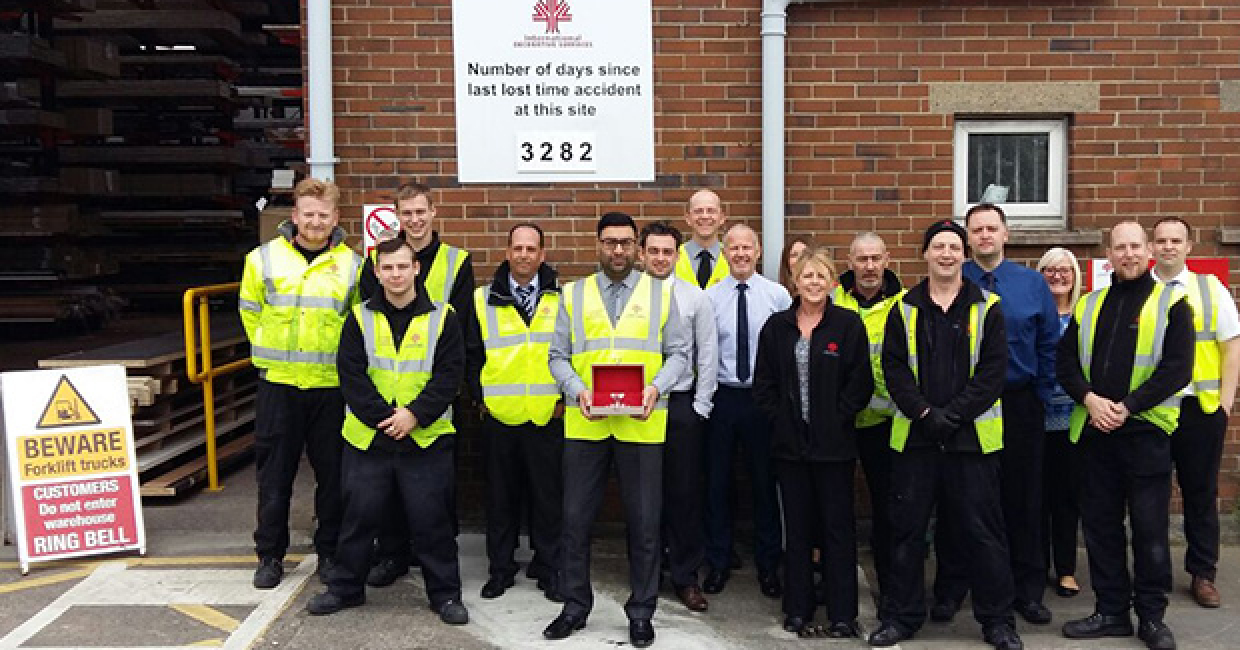 Leeds IDS won the Diamond Award for its exemplary attitude to health and safety