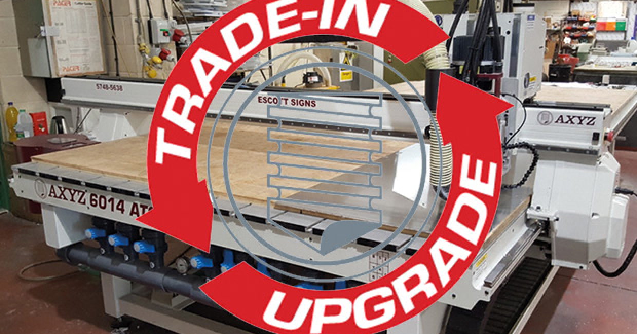 Trade-in and upgrade from your existing Pacer router...