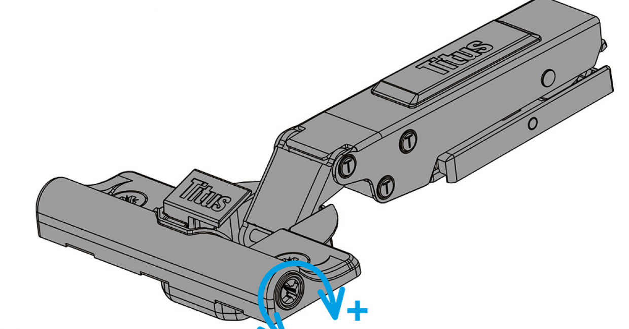 T-type Glissando damping adjustment feature