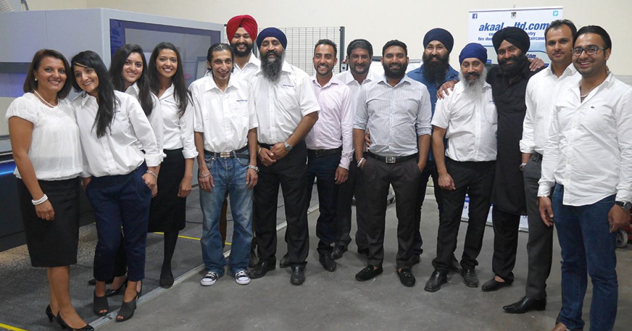 The Akaal team