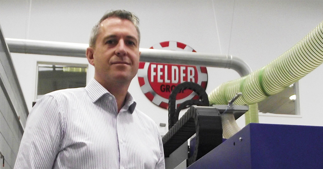 Felder UK chief executive Matthew Applegarth
