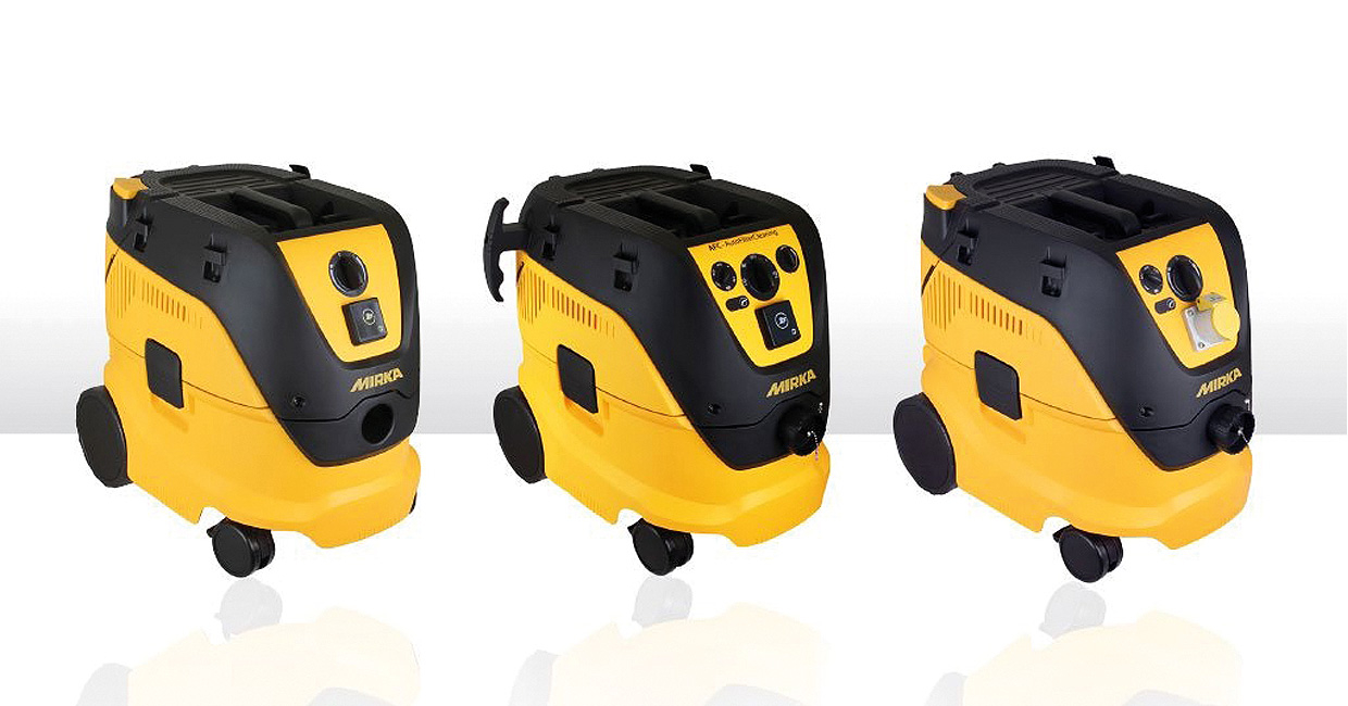 Mirka cleans up with new dust extractors