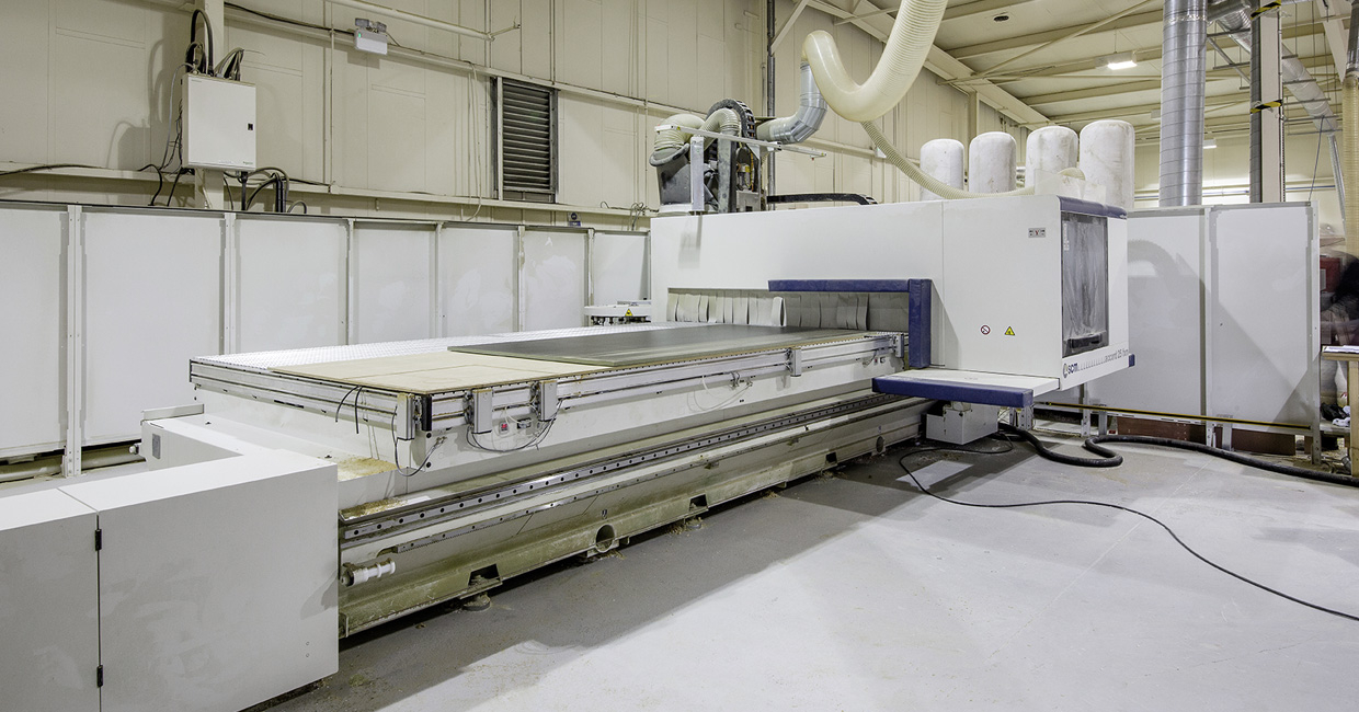 Alderwood Joinery's new SCM Accord 25 FX-M CNC machining centre