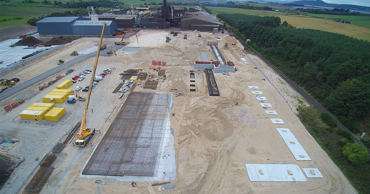 Norbord Europe's mill expansion is out of the ground now