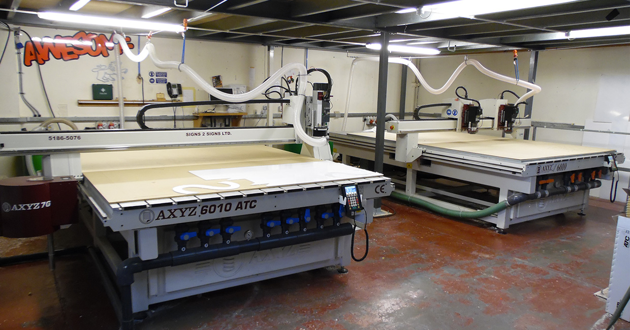AXYZ International has demonstrated unequivocally the value of programmable CNC routing
