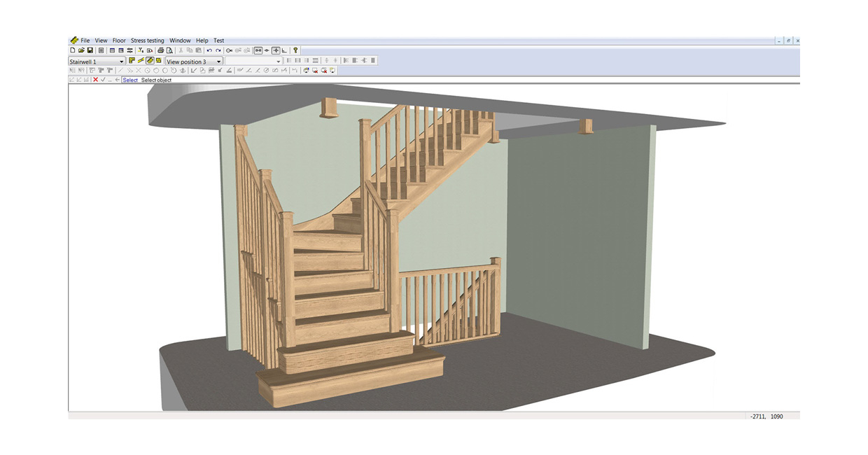 Staircon enables 3D visualisation