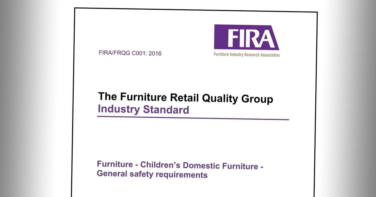 FIRA and FRQG has published new standards for children's furniture