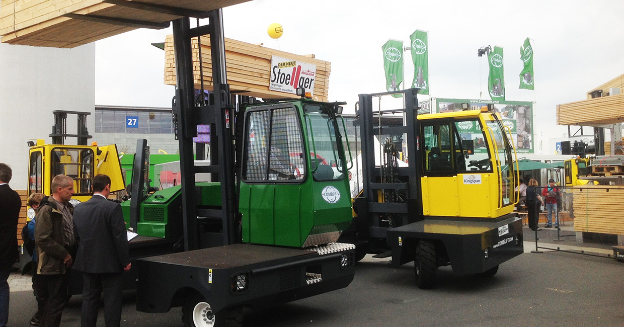 Combilift always puts on a good show at Ligna
