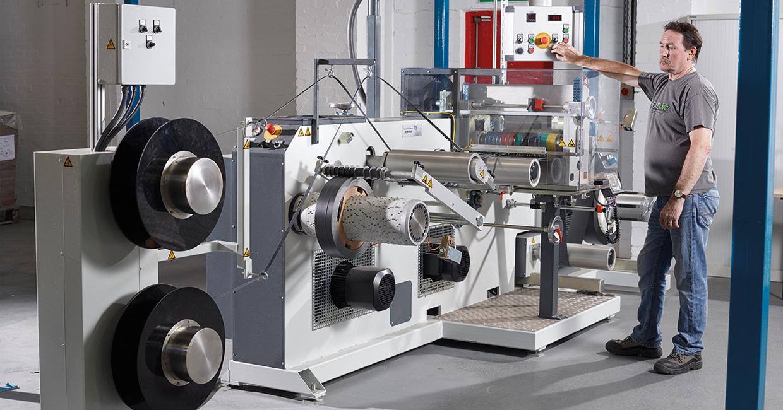 Lawcris' new edgeband slitting machine