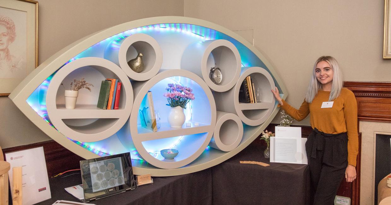 Ella Lemaire, Modular Shelving - Joint Winner overall School Design Prize