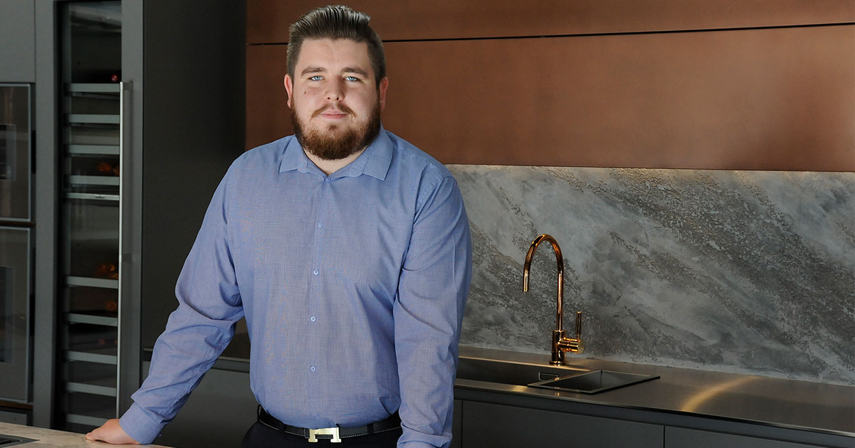 Thomas Winfield attained a pass with merit in Kitchen Design at Bucks New University